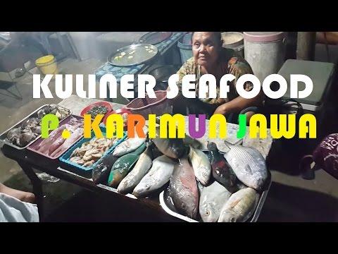 CULINARY VLOG #1 - SEAFOOD ALUN-ALUN PULAU KARIMUNJAWA