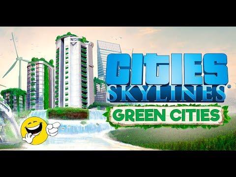 Cities: Skylines - Green City Mass Transit - Health Scenario Part 4