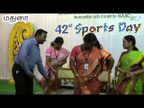 E.M.G.Yadava Women's College Sports Day | Madurai | In4net