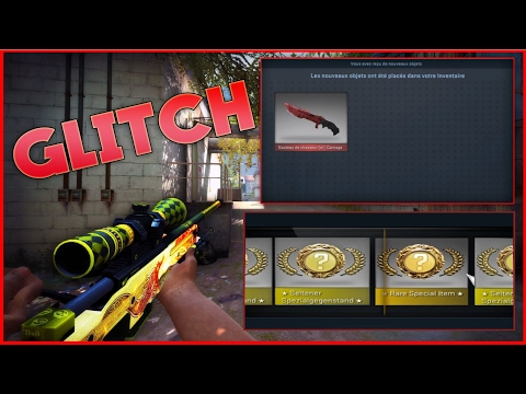 TOP 6 CASE UNBOXING GLITCHES! [ WITH REACTIONS ] - CS:GO