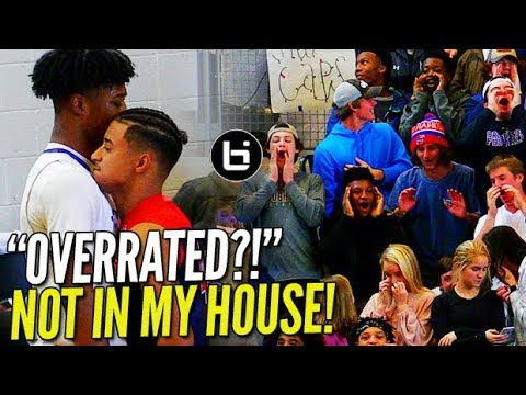 """""""OVERRATED?!"""" Julian Newman vs UNDEFEATED Host School; SOLD OUT Crowd!"""