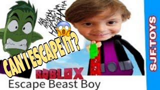 How to Escape Beast boy in Roblox Gameplay #ROBLOX #GAMING #ESCAPEBEASTBOY