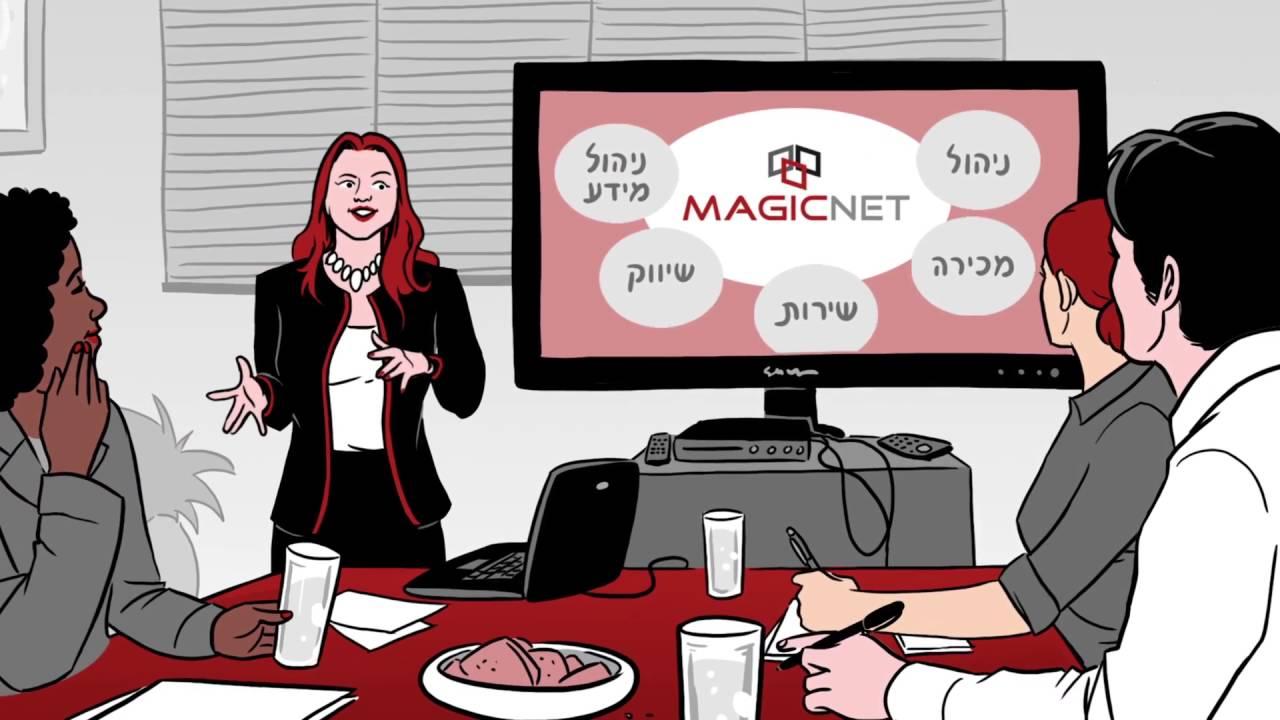 פורטל ומערכת לניהול אירגוני MAGICNET