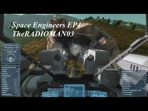 """Space Engineers EP4 """"Our First Ship"""""""