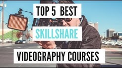 "Top 5 Best Skillshare ""Videography"" Courses [2020]"