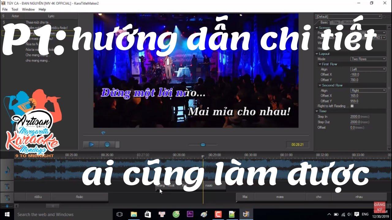 hướng dẫn làm karaoke chuyên nghiệp để kiếm tiền youtube mới nhất 2020 -phần 1-diệp linh chanel