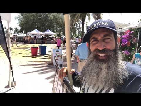 Farmers Market Open Air Preaching West Palm Beach Florida