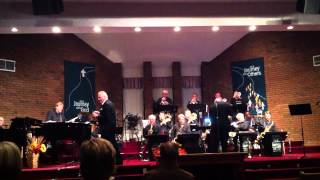 Ron Dewberry with the Jimmy Stahl Big Band
