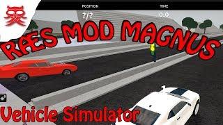 RÆS MOD MAGNUS - Vehicle Simulator - Dansk Roblox