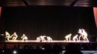 MDC The Company and Crew performing a Kenya Clay choreography piece at DancescapeLA Jan 31, 2016