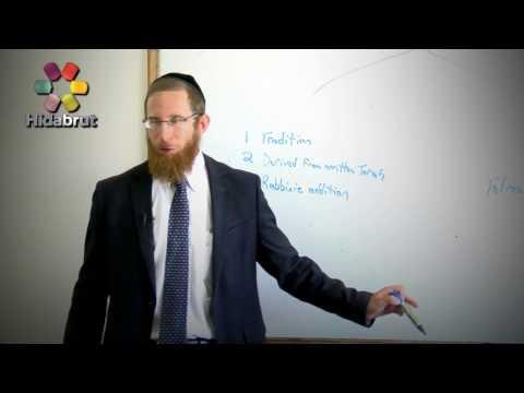 Deriving Oral Torah from Written Torah - Rabbi Yaakov Lynn