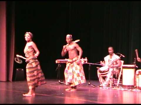 Siya and Etienne - Kasumai Africa 2008 at the NPAC Theater in Bothell, WA