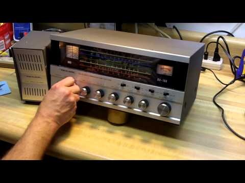 My Realistic DX-160 Shortwave Radio Arrives