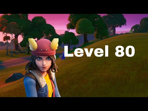 Finally I Reach To Level 80 On Fortnite Season 12