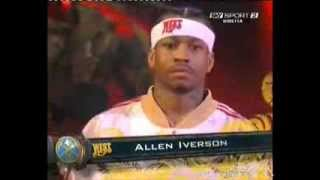 [original]08 Allstar game Allen Iverson 7 points 6 assists and Carmelo Anthony 18 points 1 assists