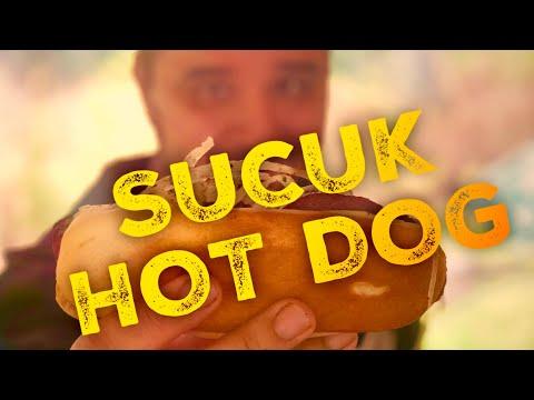 SUCUK HOT DOG mit Sumac Zwiebelsalat vom Gas Grill --- Klaus grillt