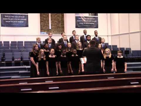 Jubilate Deo (Psalm 100 set to music by Emily Crocker)   (2017 SCACS)