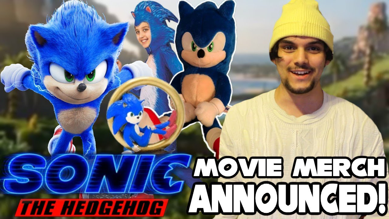 Sonic The Hedgehog Movie 2020 Merchandise Announced Toys Plushies Books More Youtube