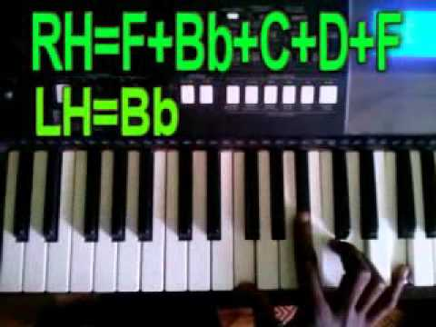 How to play Imani by sonnie badu  on piano