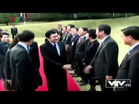 Chủ tịch nước Trương Tấn Sang thăm cấp nhà nước Đại hàn dân quốc