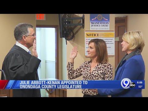 Julie Abbott appointed to Onondaga County legislature