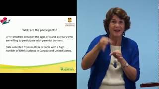 Assessment of the American Sign Language (ASL) in...