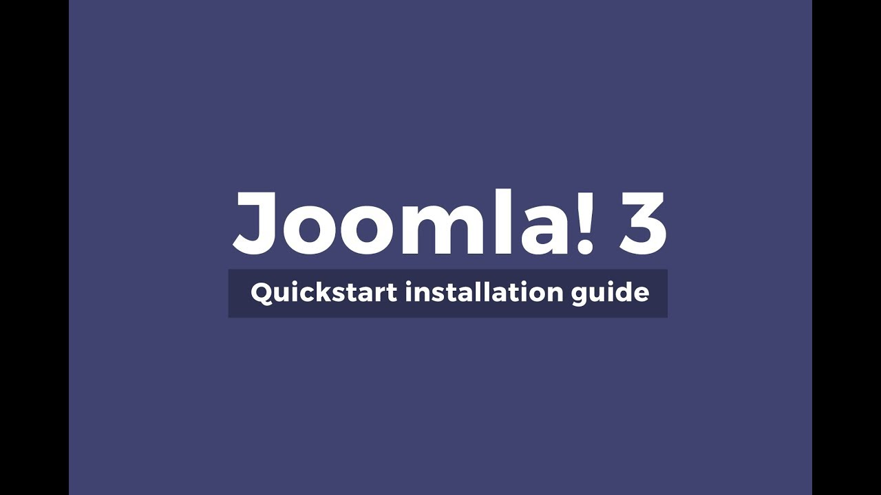 Guide] how to install joomla template and quickstart? Joomdev.