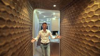 Future Interior Design - Алые Паруса - Футуристическая квартира дизайн интерьера - обзор