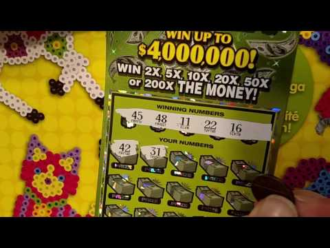 New $30 Michigan Lottery Scratch Off - MAX MONEY - AWESOME WIN!