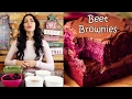 Vegan Beet Brownies - Healthy Dessert Recipe