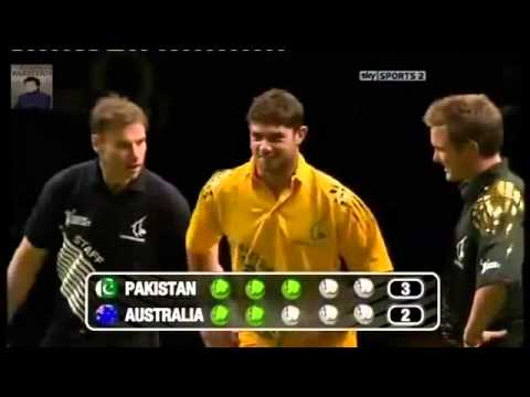 Pakistan VS Australia Bowling Competition Match ...