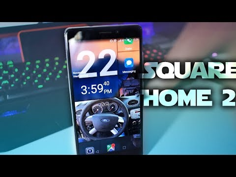 SquareHome 2 Launcher - A Windows look on Android