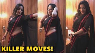 Monalisa flaunts her killer moves as she dances to 39;Teri Ore39; song