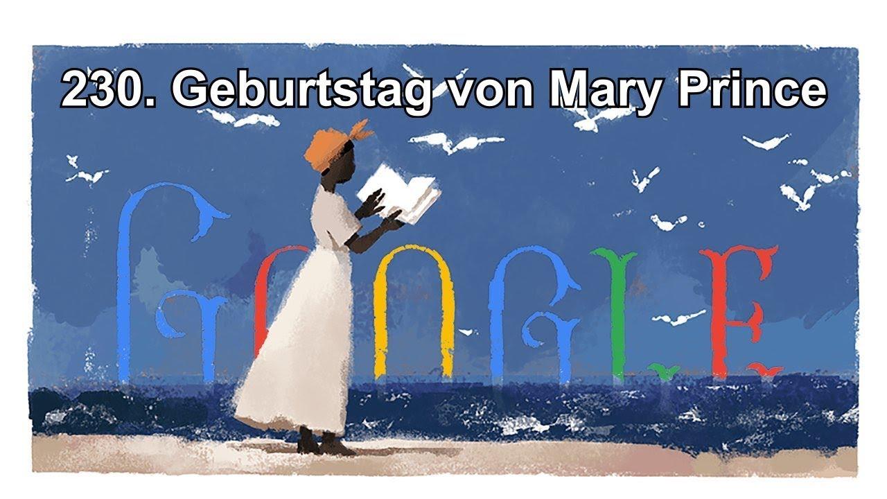230. Geburtstag von Mary Prince