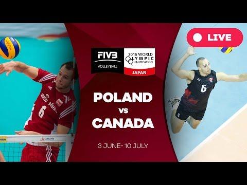 Poland v Canada - 2016 Men's World Olympic Qualification Tournament
