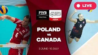 Poland v Canada - 2016 Men