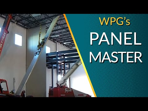 Insulated Metal Panel Installation With The Panel Master