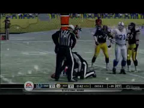 Madden 10: Colts vs Steelers