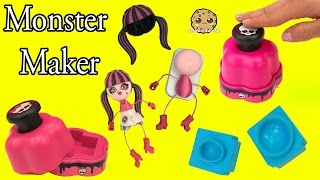 Monster High Maker Machine Create A Draculaura Mini Doll Craft Toy Playset - Cookieswirlc Video thumbnail