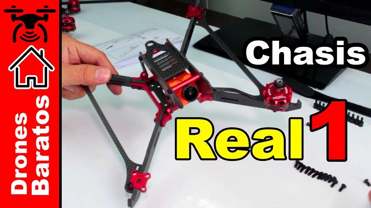 Realacc Real1 Review Español - Mejores Frames para drones de ...