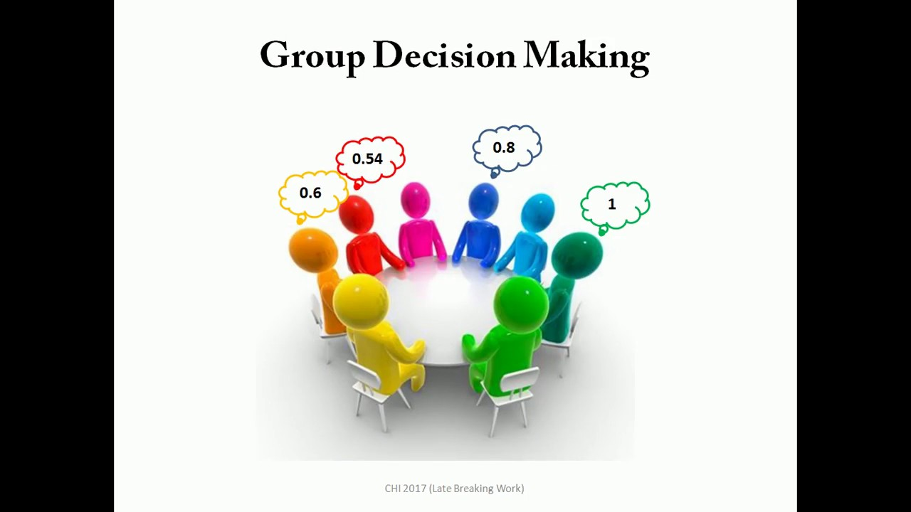 A Probabilistic Approach to Group Decision Making