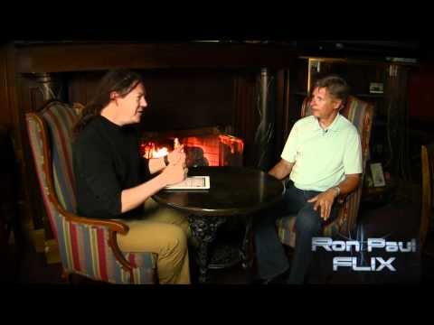Israel Anderson Interview With Gary Johnson - Ron Paul FLIX