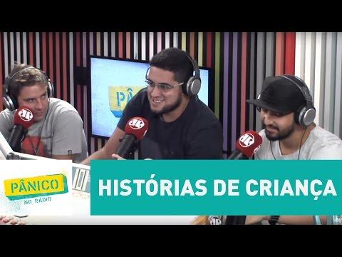 Show do Milhão, mecânico do Senna e mais: Dihh Lopes conta histórias de criança