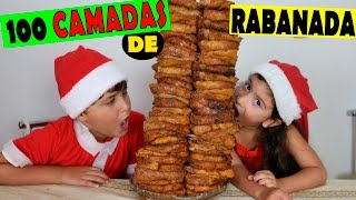 100 CAMADAS DE RABANADA