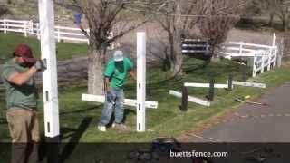 Repair Vinyl Fence Easy!