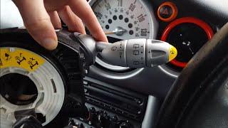 Mini Cooper r53 indicator Stalk wiper stalks airbag slip ring sensor squib Replacement