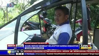 Pria Asal Sukabumi Rakit Helikopter Jenis Gardes JN 77
