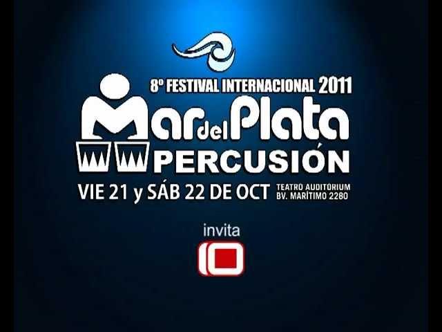 8° Festival Mar del Plata Percusión. Spot TV