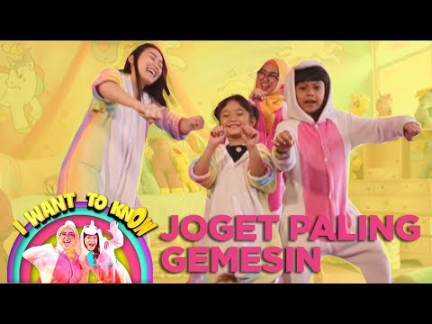 Joget Gemesin Dari Ayu Ting Ting, Bilqis Ria Ricis, Lifia - I Want To Know (30/12) PART 3