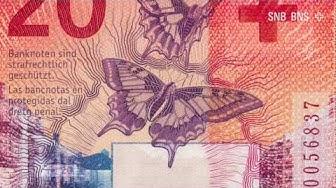 Die neue 20-Franken-Note - Impressionen von der Präsentation